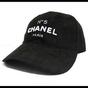 Chanel suede cap